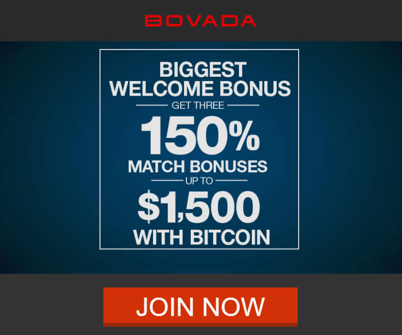 Bovada Casino Review - Bitcoin Deposits Accepted